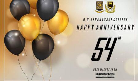 Happy 54th Anniversary D.S Senanayake College